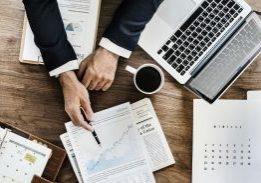 Laptop Document Business Office Agenda Paperwork